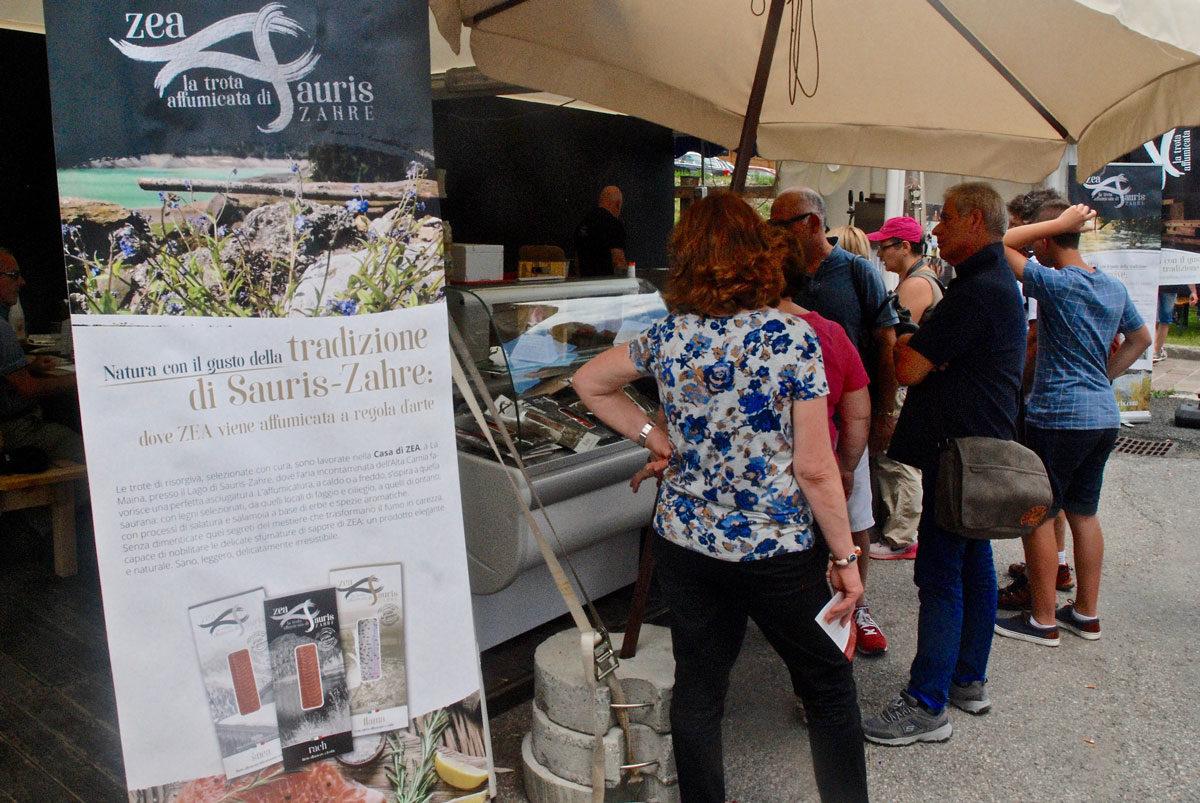 Debutto di ZEA nella Festa del Prosciutto a Sauris